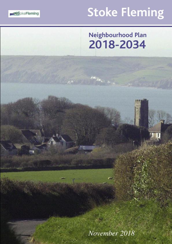 Cover of Neighbourhood Plan leaflet - published 2018
