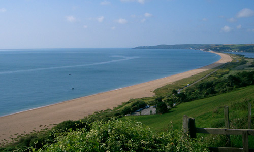 View of Slapton Sands from Strete Gate end