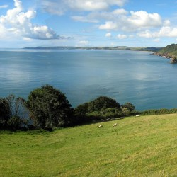 View of Start Bay from Stoke Fleming