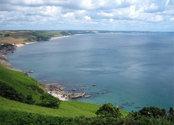 View of Start Bay from Hallsands